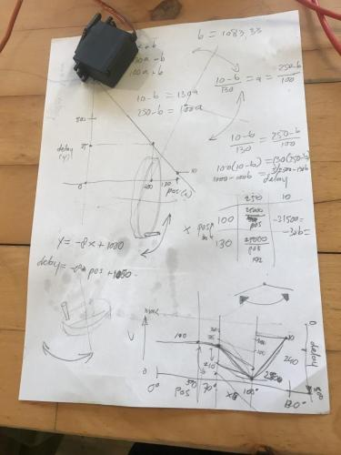Sketch fo determine code Arduino for Heron rise and fall